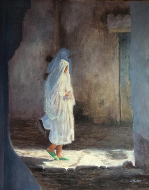 Median de Rabat, óleo sobre lienzo, 81x65